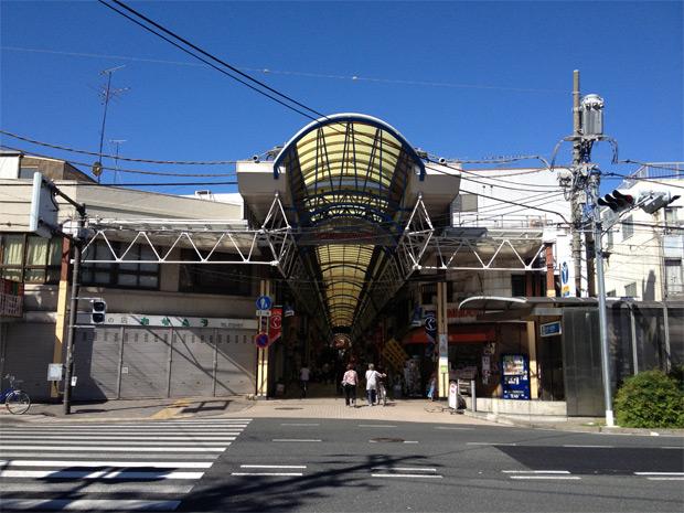 The Gumyoji Kannon-doori shopping street.